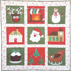Christmas Quilt Patterns.Cosy Christmas Quilt Pattern By Secret Garden Quilting
