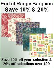 End of Range Quilting Fabric offer
