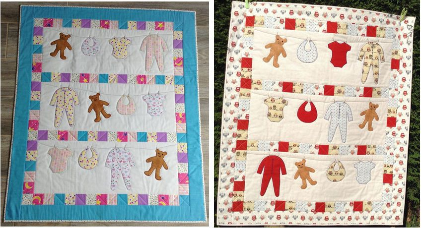 Florence Baby Quilt Pattern by Secret Garden Quilting