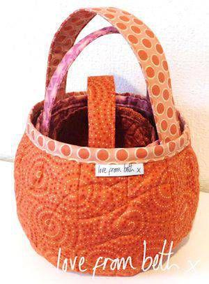 Pumpkin Bags Pattern By Beth Studley