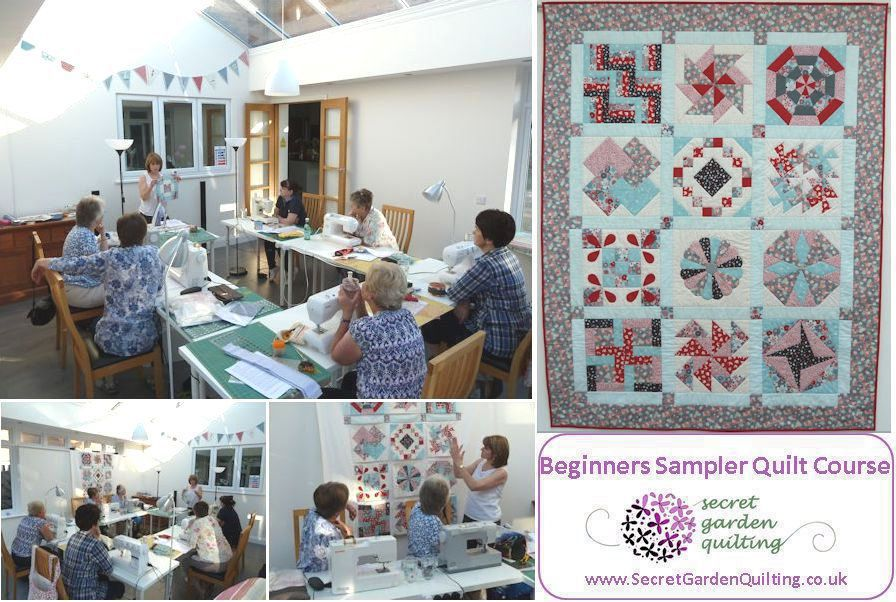 Beginners Sampler Quilt Course Saturday Mornings At Secret